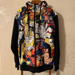 Superman Comic Hoodie/Sweater